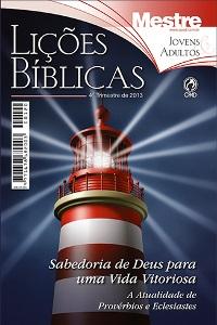 Lições Bíblicas CPAD - 4º Trimestre de 2013